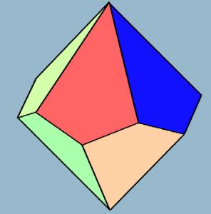 Pentagonal Trapezohedron, aka a d10.